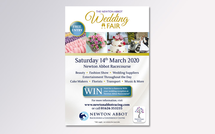 Wedding Fair A5 flyer
