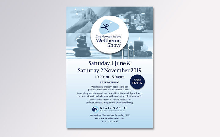 Wellbeing show A5 flyer