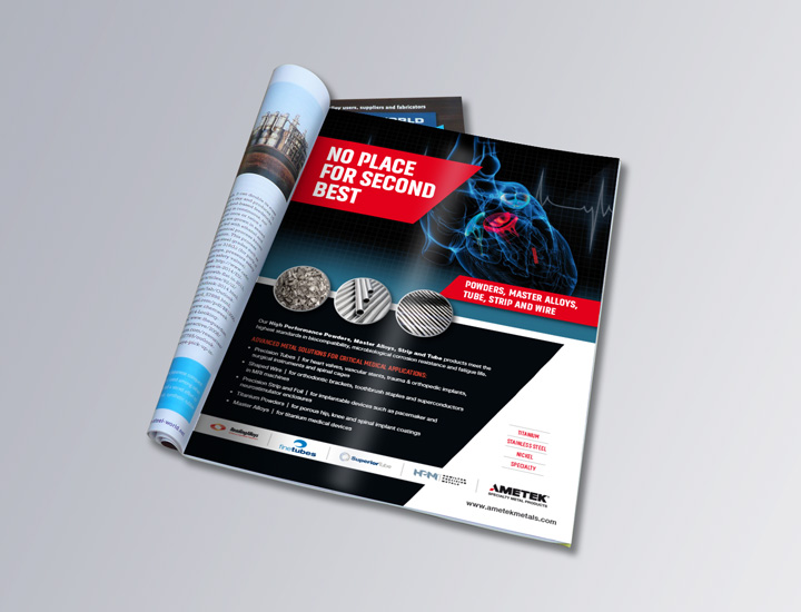Medical full page trade Ad